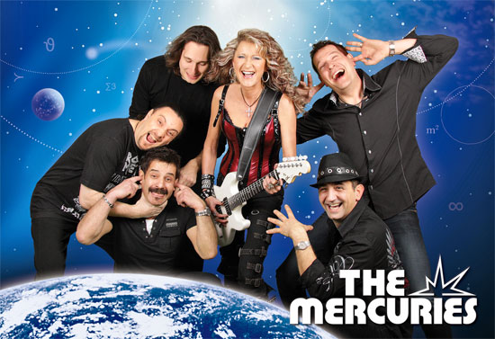 The Mercuries live im Schallerzelt